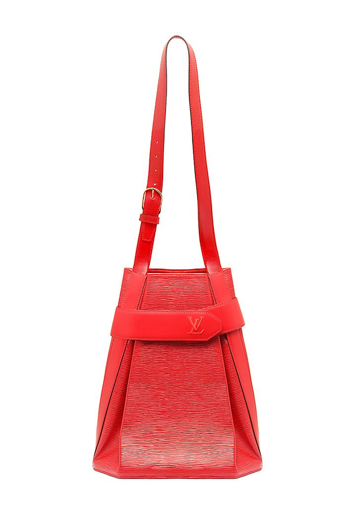 87276c742c4d Винтажная красная сумка Louis Vuitton - магазин