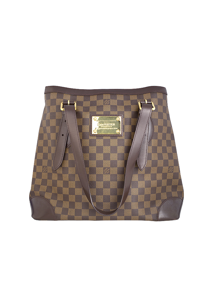 4dc8afcc5f7e Сумка Louis Vuitton Damier Canvas Hampstead MM - магазин