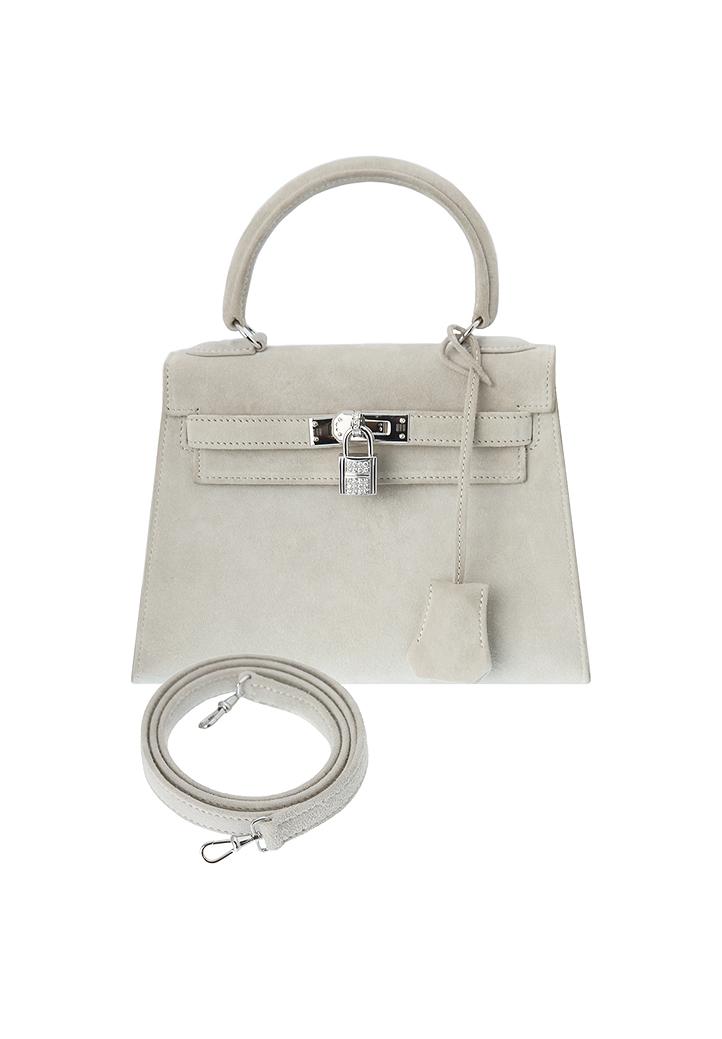 6c8518a8cfad Замшевая сумка Hermès mini-Kelly - магазин