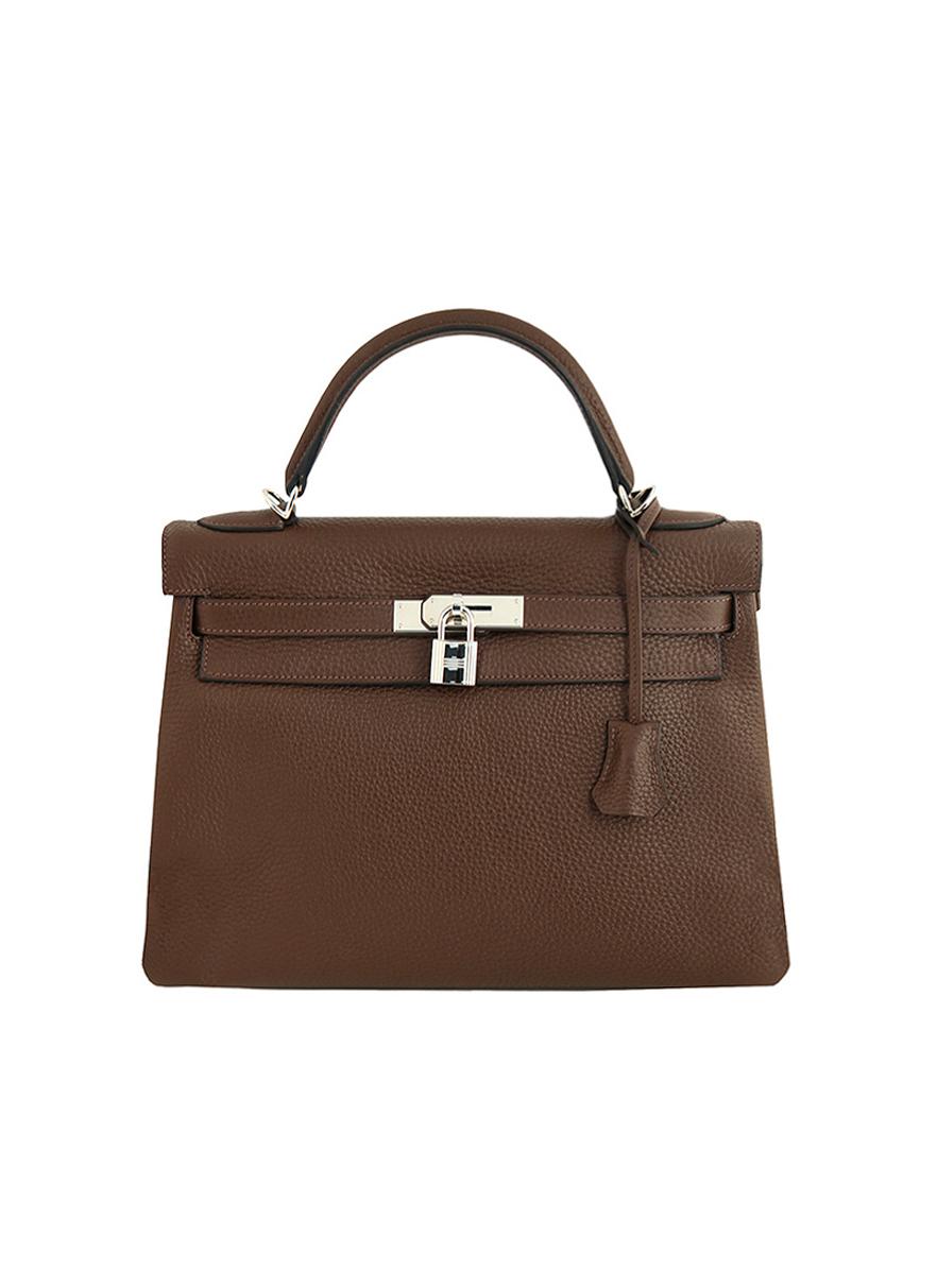 ... Сумка Hermès Kelly 32 в коже Togo ... aa431926977