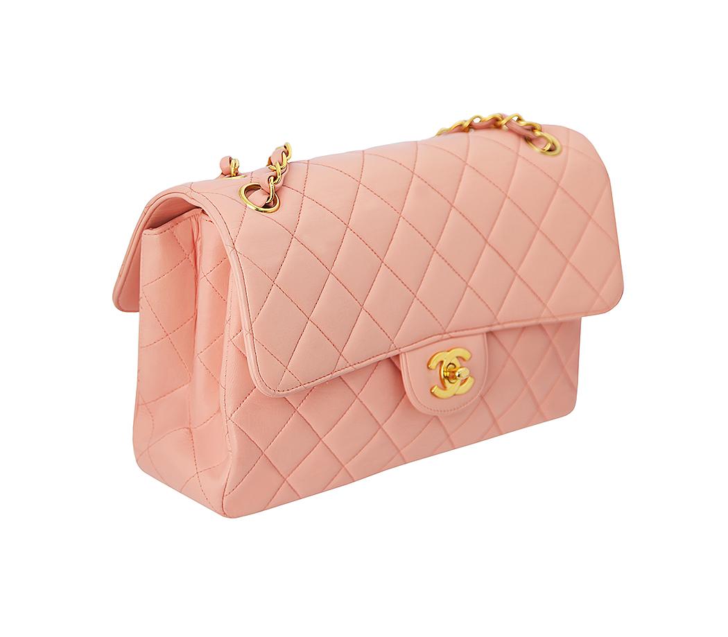 Классическая розовая сумка Chanel 2.55 - магазин