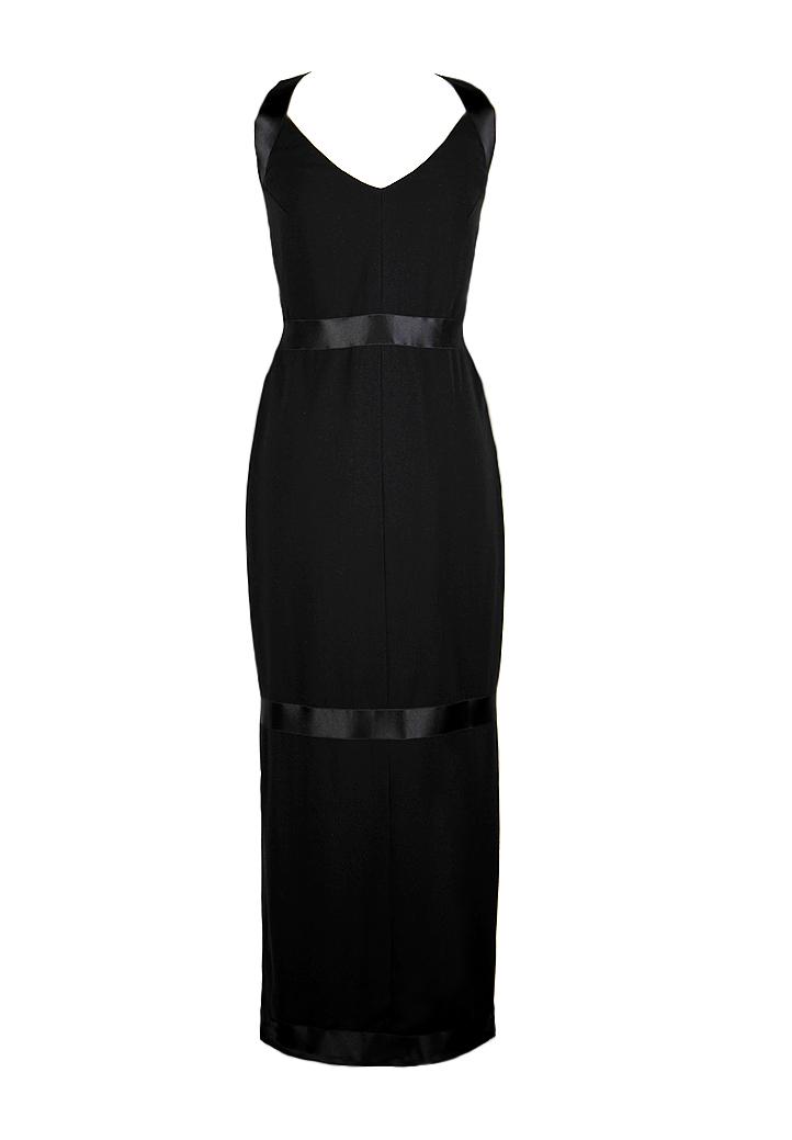 015f426f4c0 Винтажное маленькое черное платье Chanel - магазин