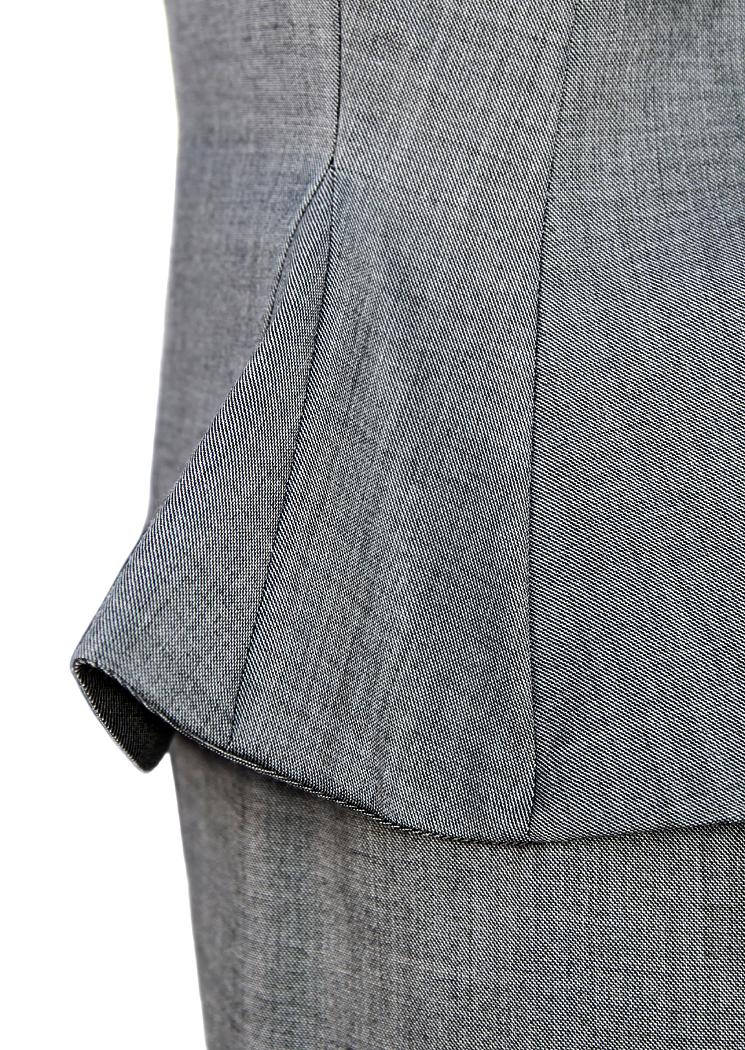 Асимметричное серое платье Christian Dior. 59 900  Размер  L. ‹ › ‹ › e33257bc4e1