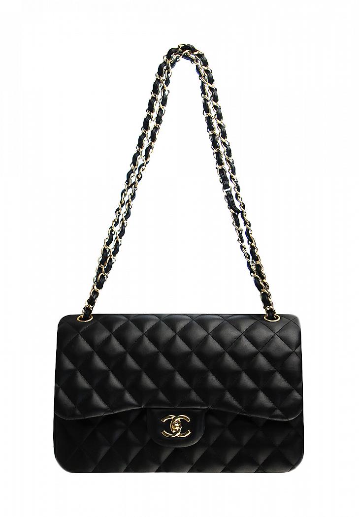 587bb34fc92b Черная сумка Chanel 2.55 - магазин